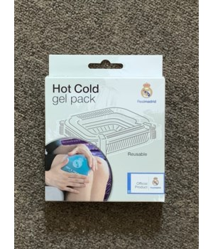 REALMADRID HOT COLD GEL PACK 6/1PK