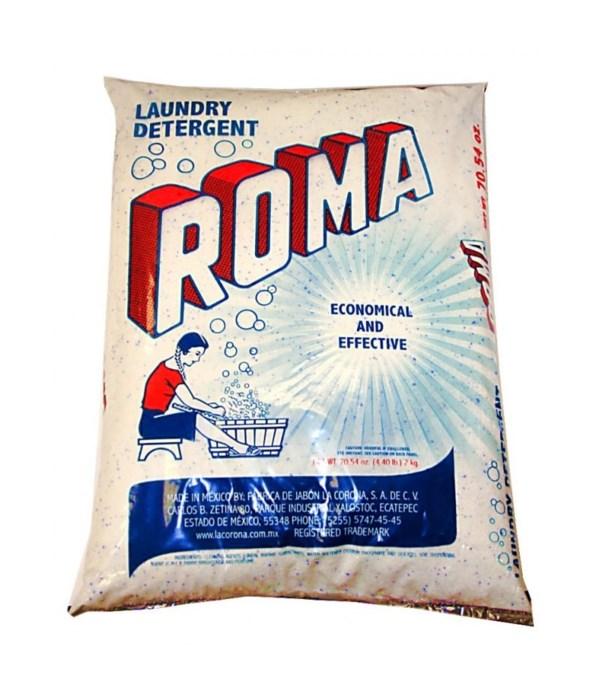 ROMA PHOSPHATE-FREE LAUNDRY DETERGENT 10/70.54OZ(2KG)