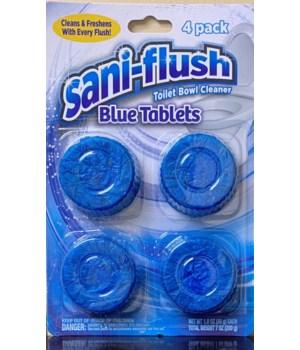 SANI-FLUSH TOILET BOWL CLEANER CLEANER 12/4PK