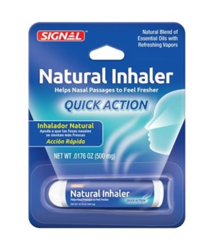 SIGNAL NATURAL INHALER  24/500MG(.0176OZ)