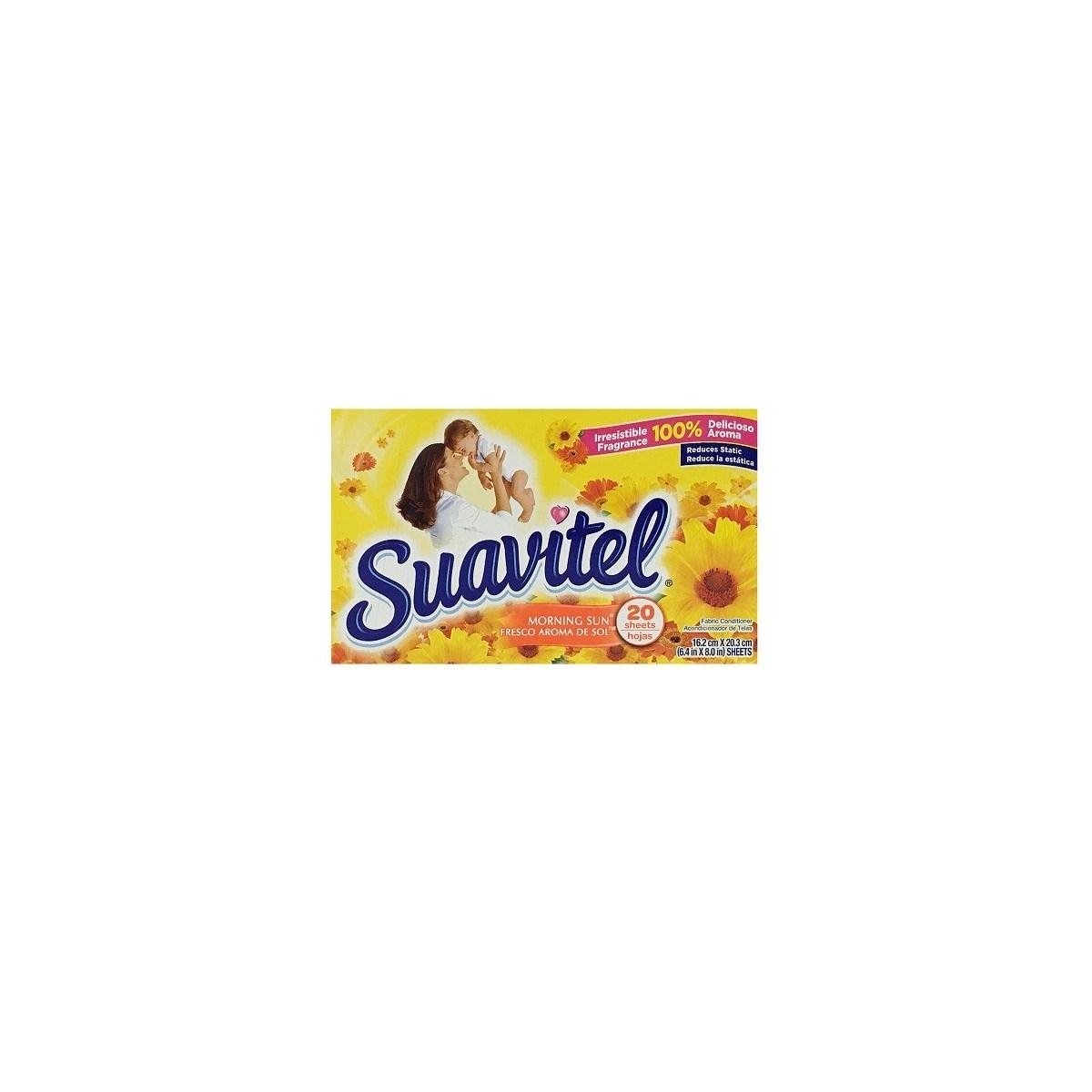 SUAVITEL DRYER SHEETS MORNIG SUN 15/20CT(3550A)