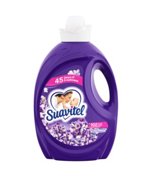 SUAVITEL FABRIC SOFTNER LAVANDER 4/135OZ(39373)