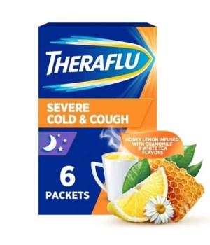 THERAFLU NIGHTTIME SEVERE COLD&COUGH 12/6CT