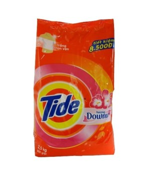 TIDE LAUNDRY DETERGENT WITH DOWNY 5/2.5KG (647233)