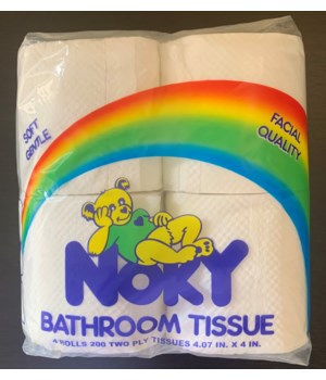 NOKY BATHROOM TISSUE 4PK 12CS