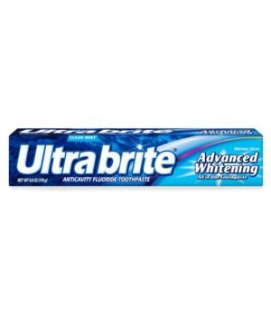 ULTRA BRITE ADVANCED CLEAN MINT 24/6OZ
