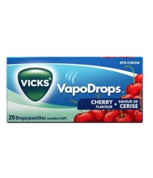 VICKS COUGH DROPS CHERRY (USA) 20/20CT
