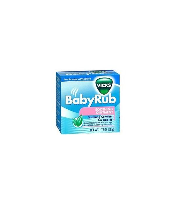 VICKS BABY RUB 12/50GR