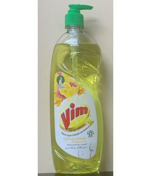 VIM DISH WASHING GREEN LEMON 15/750ML