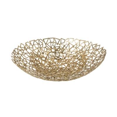 Iku Bowl (Lg) - Cast Brass