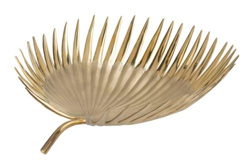 Kiko Bowl (Lg) - Polished Brass, Brushed