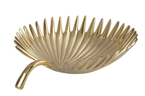 Kiko Bowl (Sm) - Polished Brass, Brushed