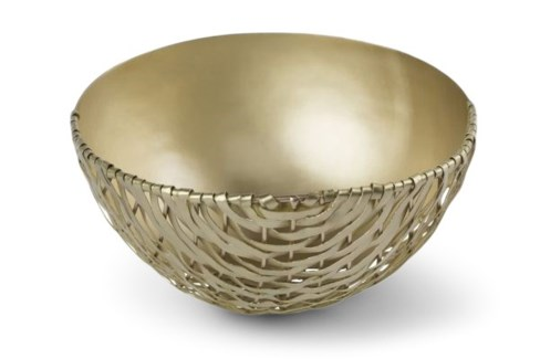Suki Bowl (Sm) - Satin Brass