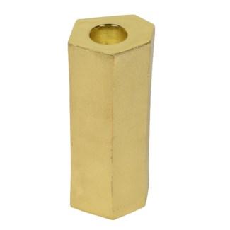 Noko Candleholder (Medium) - Matte Brass