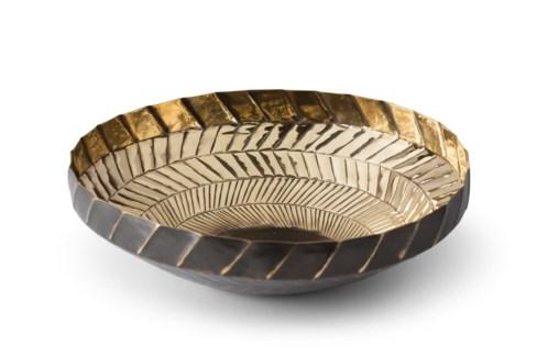 Emile Bowl - Polished Antique Brass