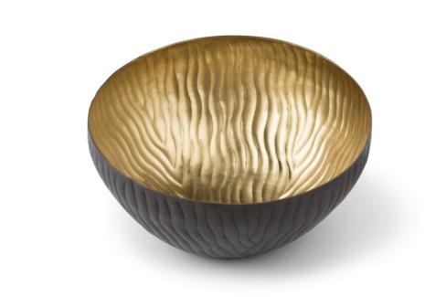 Mondo Bowl (Medium) - Antique Satin Brass