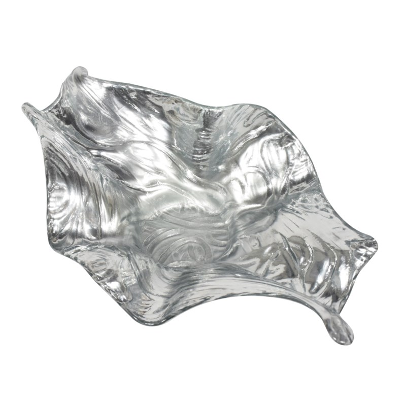 Nellie Bowl - Mirrored Silver