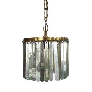 Joni Pendant - Antique Brass