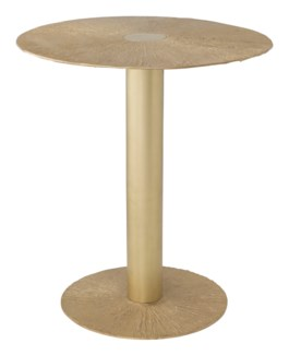 Aga Table - Satin Brass
