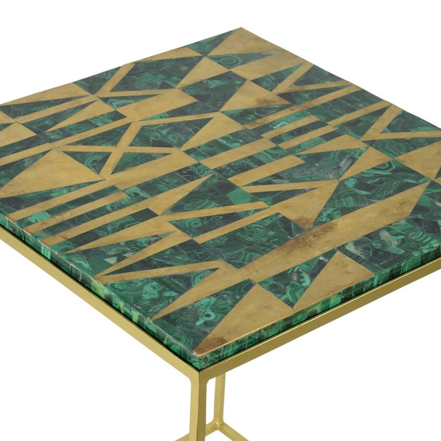 Coco Table - Malachite