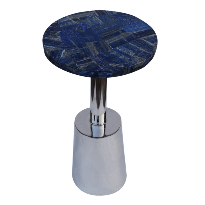 Billie Accent Table (Round) - Lapis Top