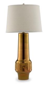 Del Rey Grande Lamp - Polished Antique Gold