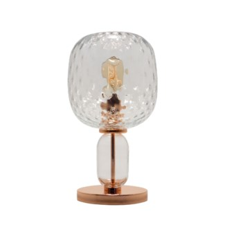 Hooray Harriet Table Lamp - Copper, Cristale Tuft Glass
