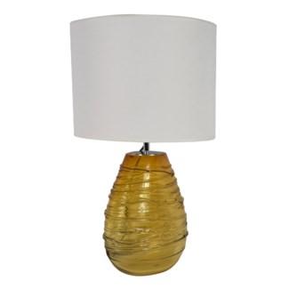 Enzo Table Lamp - Dark Amber