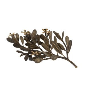 Asana Tabletop Decor (Lg) - Cast Brass, Burnished