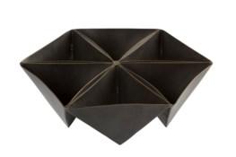 Dalia Bowl - Antique Brass