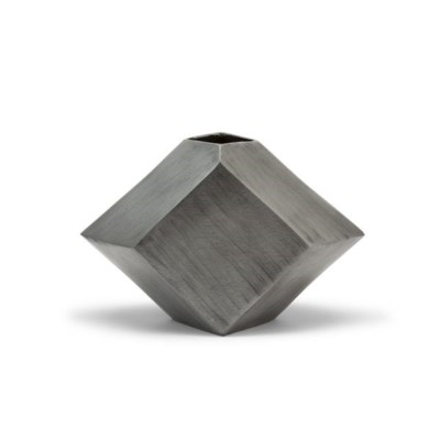 Hexx Vase (Sm) - Hand Finished Pewter