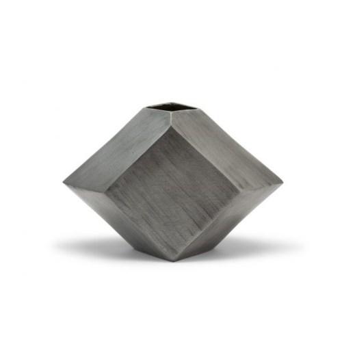 Hexx Vase (Sm) - Hand Finished Pewter