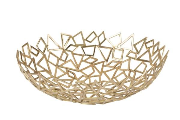 Iku Bowl (Sm) - Cast Brass