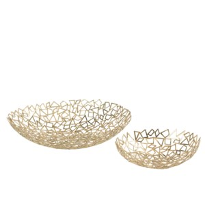 Iku Bowl (Set) - Cast Brass