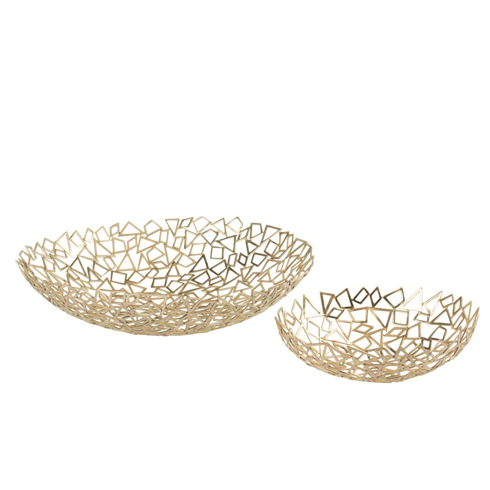 Iku Bowl (Set) - Cast Brass