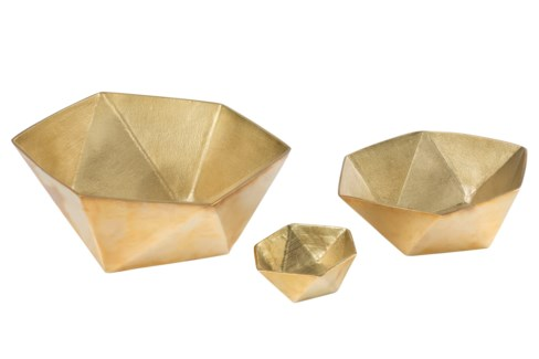 Kiki Bowl (Set) - Brass