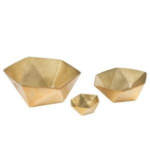 Kiki Bowl (Set) - Brass