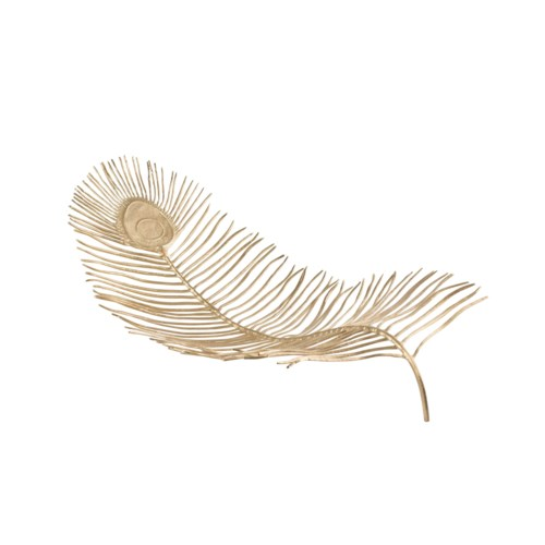 Pico Tabletop Feather - Solid Brass