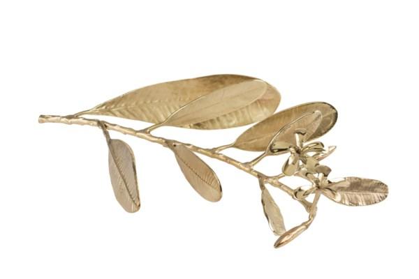 Asana Tabletop Decor (Sm) - Cast Brass, Polished