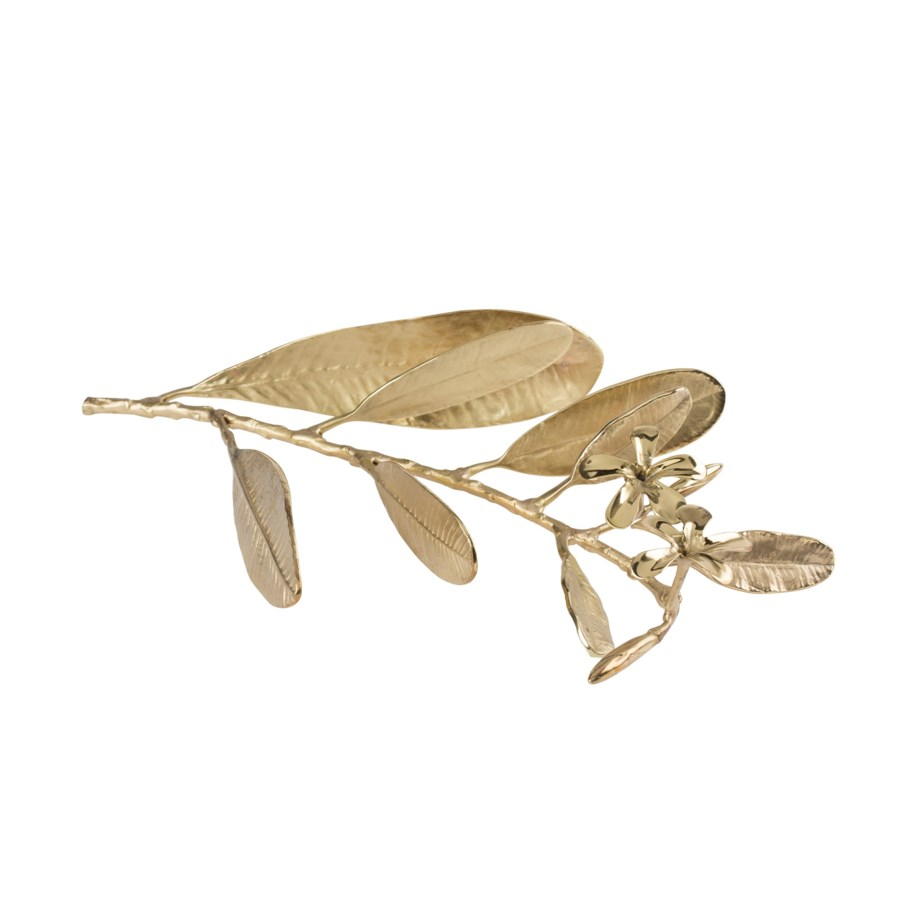 Asana Tabletop Decor (Sm) - Cast Brass, Polished