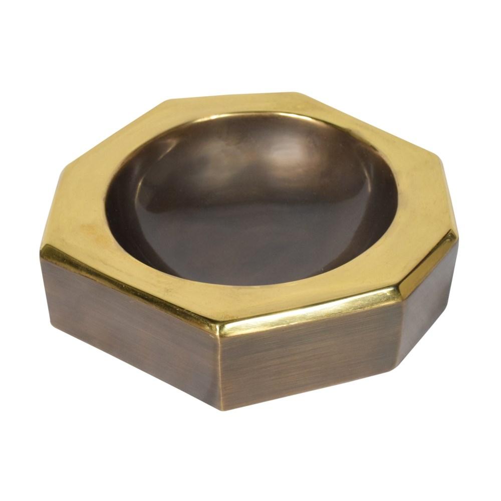 Castro Bowl (Lg) - Antique Oil Rubbed Brass