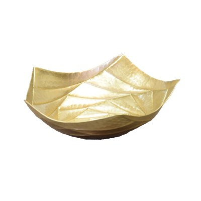 Baku Small Tray - Satin Brass