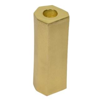Noko Candleholder (Large) - Matte Brass