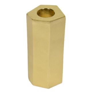 Noko Candleholder (Small) - Matte Brass