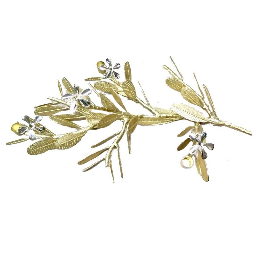 Asana Tabletop Decor (Lg) - Cast Brass, Natural