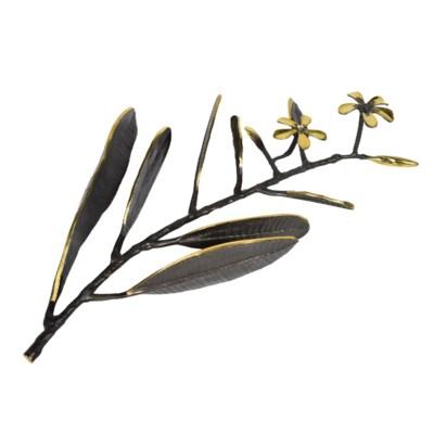 Asana Tabletop Decor (Sm) - Cast Brass, Burnished