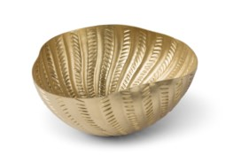 Michel Bowl - Satin Brass