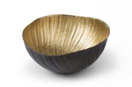 Michel Bowl - Antique Brass