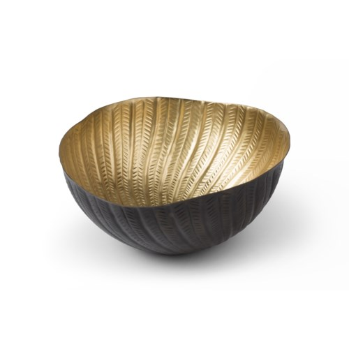 Michel Bowl - Antique Brass