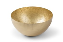 Henri Bowl - Satin Brass